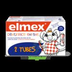 Acheter ELMEX DUO DENTIFRICE ENFANT, tube 50 ml x 2 à JACOU