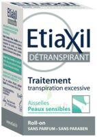 Etiaxil Aisselles Détranspirant peau sensibles Roll-on/15ml à JACOU