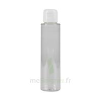 Flacon PET transparent avec capsule service blanche 100ml à JACOU
