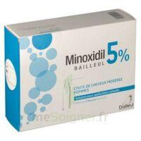 MINOXIDIL BAILLEUL 5 % Solution pour application cutanée 3 Fl/60ml à JACOU