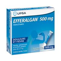 Efferalgan 500 Mg Glé En Sachet Sach/16 à JACOU