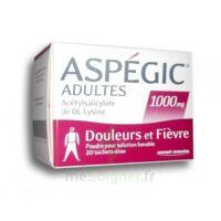 ASPEGIC ADULTES 1000 mg, poudre pour solution buvable en sachet-dose 20 à JACOU