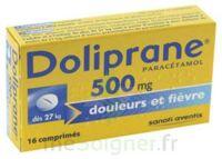 DOLIPRANE 500 mg Comprimés 2plq/8 (16) à JACOU