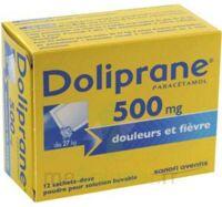 DOLIPRANE 500 mg Poudre pour solution buvable en sachet-dose B/12 à JACOU