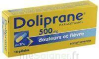 DOLIPRANE 500 mg Gélules B/16 à JACOU