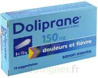 Doliprane 150 Mg Suppositoires 2plq/5 (10) à JACOU