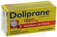DOLIPRANE 1000 mg Comprimés effervescents sécables T/8 à JACOU