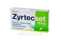 ZYRTECSET 10 mg, comprimé pelliculé sécable à JACOU