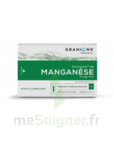 GRANIONS DE MANGANESE 0,1 mg/2 ml S buv en ampoule 30Amp/2ml à JACOU