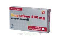IBUPROFENE ARROW CONSEIL 400 mg, comprimé pelliculé à JACOU