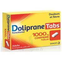 DOLIPRANETABS 1000 mg Comprimés pelliculés Plq/8 à JACOU