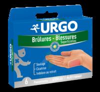 URGO BRULURES-BLESSURES PETIT FORMAT x 6 à JACOU