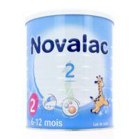 NOVALAC 2 Lait en poudre 2ème âge B/800g* à JACOU
