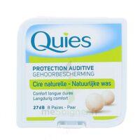 QUIES PROTECTION AUDITIVE CIRE NATURELLE 8 PAIRES à JACOU