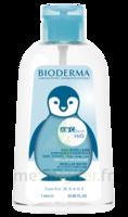 ABCDERM H2O Solution sans rinçage nettoyante bébé Fl pompe/1L à JACOU