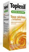 TOPLEXIL 0,33 mg/ml sans sucre solution buvable 150ml à JACOU