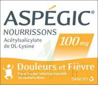 ASPEGIC NOURRISSONS 100 mg, poudre pour solution buvable en sachet-dose à JACOU