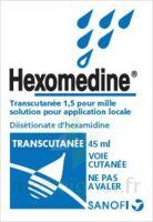 HEXOMEDINE TRANSCUTANEE 1,5 POUR MILLE, solution pour application locale à JACOU