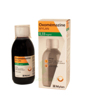 OXOMEMAZINE MYLAN 0,33 mg/ml, sirop à JACOU
