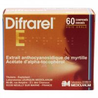 DIFRAREL E, comprimé enrobé Plq/60 à JACOU