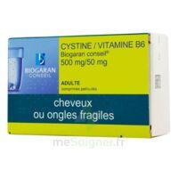 Cystine/vitamine B6 Biogaran Conseil 500 Mg/50 Mg Cpr Pell Plq/120 à JACOU
