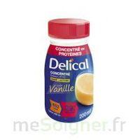 DELICAL BOISSON HP HC CONCENTREE Nutriment vanille 4Bouteilles/200ml à JACOU