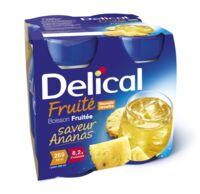 DELICAL BOISSON FRUITEE Nutriment ananas 4Bouteilles/200ml à JACOU