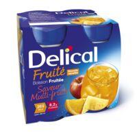 DELICAL BOISSON FRUITEE Nutriment multi fruits 4Bouteilles/200ml à JACOU