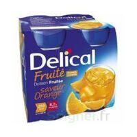 DELICAL BOISSON FRUITEE Nutriment orange 4Bouteilles/200ml à JACOU