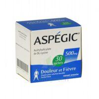ASPEGIC 500 mg, poudre pour solution buvable en sachet-dose 30 à JACOU