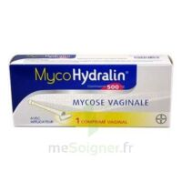MYCOHYDRALIN 500 mg, comprimé vaginal à JACOU