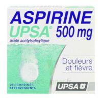 ASPIRINE UPSA 500 mg, comprimé effervescent à JACOU