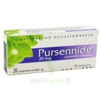 PURSENNIDE 20 mg, comprimé enrobé à JACOU