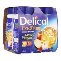 DELICAL BOISSON FRUITEE Nutriment pomme 4Bouteilles/200ml à JACOU
