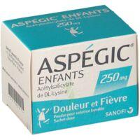 ASPEGIC ENFANTS 250, poudre pour solution buvable en sachet-dose à JACOU