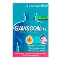 GAVISCONELL Suspension buvable sachet-dose menthe sans sucre 12Sach/10ml à JACOU