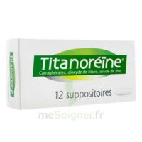 TITANOREINE Suppositoires B/12 à JACOU
