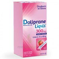 Dolipraneliquiz 300 mg Suspension buvable en sachet sans sucre édulcorée au maltitol liquide et au sorbitol B/12 à JACOU