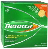Berocca Comprimés Effervescents Sans Sucre T/60 à JACOU