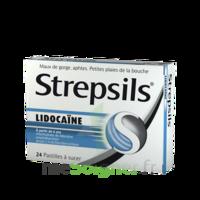 Strepsils lidocaïne Pastilles Plq/24 à JACOU