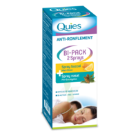 Quies Bi-Pack 2 Sprays buccal et nasale anti-ronflement à JACOU