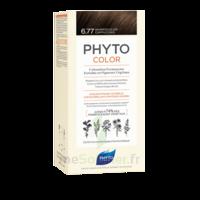 Phytocolor Kit Coloration Permanente 6.77 Marron Clair Cappuccino à JACOU
