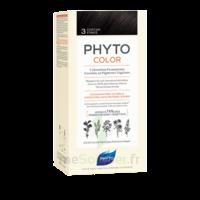 Phytocolor Kit Coloration Permanente 3 Châtain Foncé à JACOU