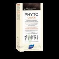 Phytocolor Kit Coloration Permanente 4.77 Châtain Marron Profond à JACOU