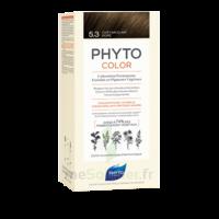 Phytocolor Kit Coloration Permanente 5.3 Châtain Clair Doré à JACOU