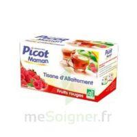 Picot Maman Tisane d'allaitement Fruits rouges 20 Sachets à JACOU