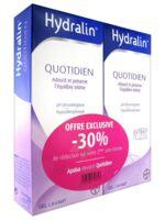 Hydralin Quotidien Gel lavant usage intime 2*200ml à JACOU