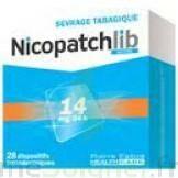 NICOPATCHLIB 14 mg/24 h Dispositifs transdermiques B/7 à JACOU