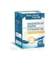 Nat&Form Expert Magnésium+Vitamine B6 Gélules B/40 à JACOU