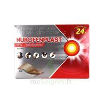 NUROFENPLAST 200 mg Emplâtre médic 4Sach à JACOU
